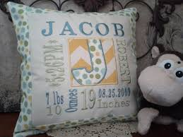 personalized pillows for baby best 25 personalized pillows ideas on personalized