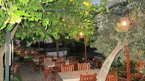 tables lemon trees picture of st nicholas pension patara