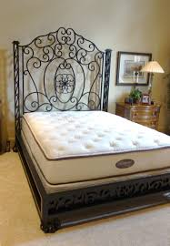 bedroom full size bed frame iron canopy bed metal twin bed