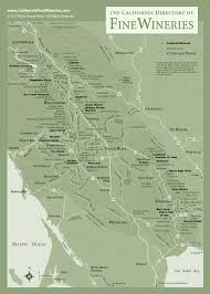 Sonoma Winery Map Sonoma County Map Of California Fine Wineries