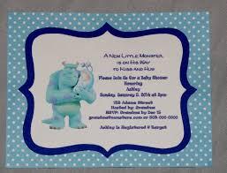 monster inc baby shower invitations u2013 gangcraft net