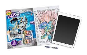 amazon com crayola color alive action coloring pages skylanders