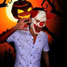 online buy wholesale creepy clown mask from china creepy clown