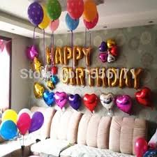helium birthday balloons gold alphabet letters balloons happy birthday party