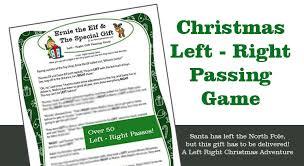 free printable christmas song lyric games christmas left right game gift exchange