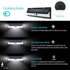 litom solar lights outdoor litom 54 led 2 pic solar lights waterproof solar lights with 120