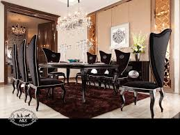 Transitional Home Transitional Dining Room Charlotte All Products In Armani Xavira Dining Room Furniture Boho