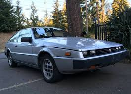 this 1986 isuzu impulse is a daily driven 5 speed car with working