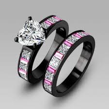 black wedding rings black wedding rings for best 25 black engagement rings ideas