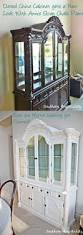 How To Display China In A Hutch A Repainted China Cabinet Southern Hospitality