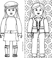 american doll coloring pages png doll printable of american