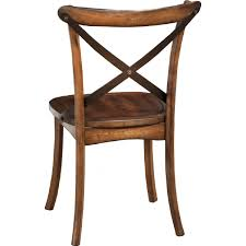 alpine furniture 5672 02 arendal side chair in burnished dark oak