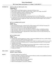 retail resume skills and abilities exles retail specialist resume sles velvet jobs
