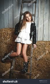 beautiful blonde young white stock photo 460463254