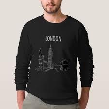 london black cool simple sketch modern trendy chic sweatshirt