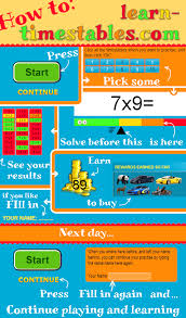times tables the fun way online learn your timestables in an effective way to review pinterest