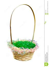 easter basket grass easter basket with green grass stock photography image 8644182