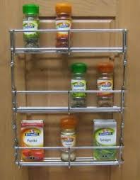 wall spice cabinet with doors 3 tier h duty spice rack chrome kitchen cabinet door mounted wall