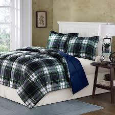 andover mills arrowsmith navy plaid comforter set reviews
