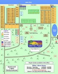 Site Map Virginia U0027s Beach Campground Site Map And Policies