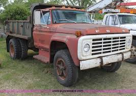 ford f700 truck 1977 ford f700 dump truck item h2062 sold june 26 const