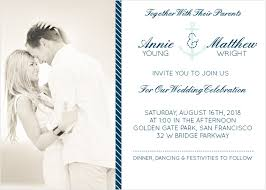 nautical themed wedding invitations nautical wedding invitations match your color style free