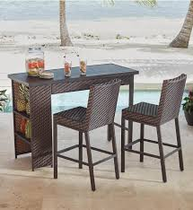 Patio Table Decor The Best 25 Bar Height Patio Set Ideas On Pinterest Diy Cable