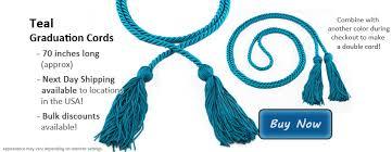 graduation cords cheap teal graduation cords from honors graduation