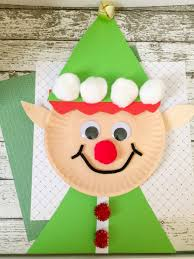 christmas elf paper plate craft for kids paper plate crafts