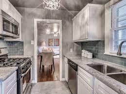 kitchen with flush light u0026 flat panel cabinets in oklahoma city