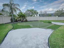 home decor beautiful backyard putting green golf putting