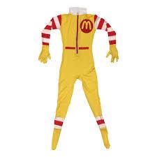 ronald mcdonald costume cosplay spandex mcdonald u0027s fancy