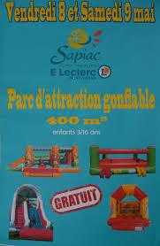 si e montauban parc attraction gonflable leclerc sapiac montauban les châteaux de