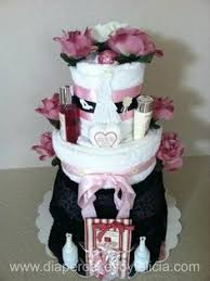 power to personalize your wedding bridal shower towel cake
