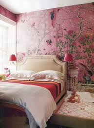 Bed Wallpaper Preciously Me Blog One Room Challenge Bedroom Makeover Reveal