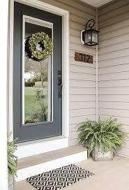 25 unique front door decor ideas on picture frame