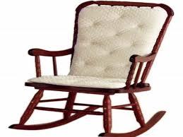 White Rocking Chair Cushion Furniture Unique Chair Design Ideas With Nice Papasan Rocking