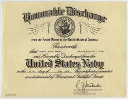 honorable discharge certificate don baker s honorable discharge certificate from the united states