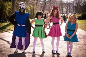 Powerpuff Girls Halloween Costumes Powerpuff Girls Mojo Jojo Cosplay Super Nana Majcosplay
