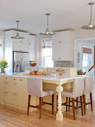 hanging light kitchen kitchen style modern french kitchen design gray polkadots bar