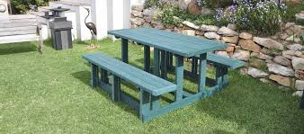 Plastic Outdoor Furniture by Products From Recycled Plastic