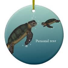 sea turtle ornaments keepsake ornaments zazzle