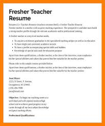 Great Teacher Resumes 100 Teacher Resume Teaching Experience Correct Format