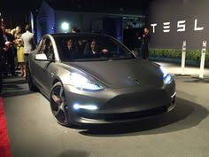 tesla model 3 shown off at employee party new images electric