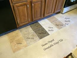 Kitchen Floor Tile Designs Looking For Kitchen Flooring Ideas Found Groutable Vinyl Tile At