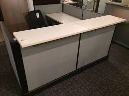 Herman Miller Reception Desk Herman Miller Reception Station 6 X 6 S Office Furniture