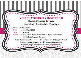 Inauguration Invitation Card Sample Doc 800982 Invitation Card In English U2013 Sample Of Wedding