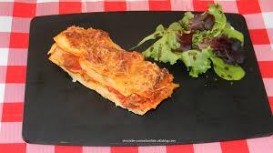 cuisine familiale rapide lasagne au boeuf haché tomate béchamel simple et rapide