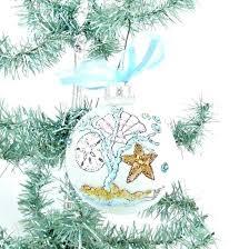 themed tree ornaments coastal tree ornaments
