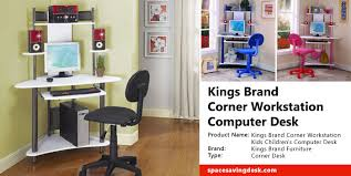 Desk Review Kings Brand Corner Workstation Computer Desk Review Space Saving